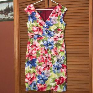Donna Ricco sleeveless dress